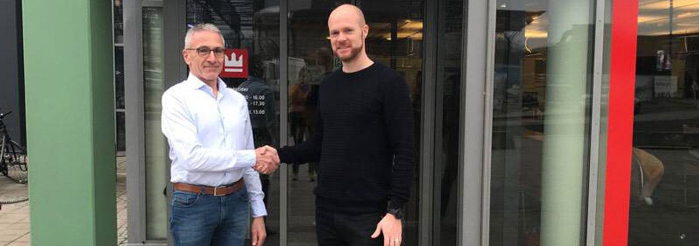 Sparekassen Kronjylland er hovedsponsor for Viborg FH