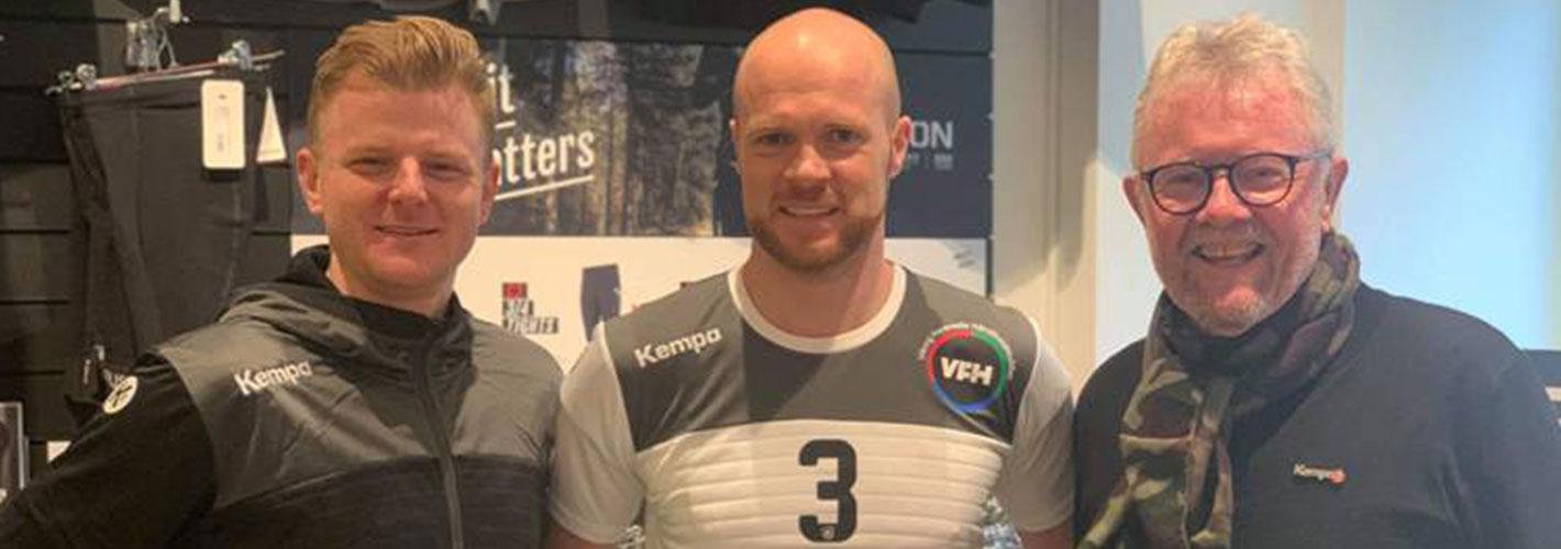 Kempa og Sportigan indgår tøjaftale